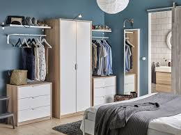 bedroom furniture ideas ikea sensational blue wardrobe with