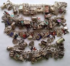 vintage charm bracelet charms images Echarmony charm bracelet collection england english uk vintage jpg