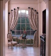 Arch Window Curtains Arched Window Curtain Rod Home Projects Pinterest Arched