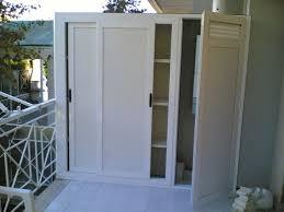 armadio da esterno in alluminio ripostigli in alluminio per interni ed esterni