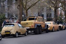 black and gold maserati saudi tourist u0027s gold cars slapped with parking fines in london