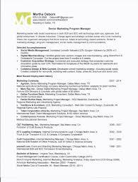 program manager resume samples program director resume free resume example and writing download marketing program manager one page resume for martha osborn