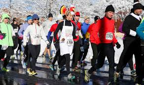 1 112 runners turn out for 33rd portland thanksgiving 4 miler