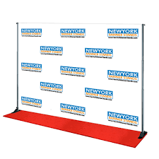 custom photo backdrops custom backdrops for events in nyc personalized backdrop banner