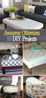 Upcycle Ottoman I Would To Try This Diy Project Upcycle An Coffee Table