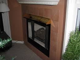 fireplace hood heat shield