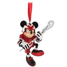 ornament lacrosse mickey mouse
