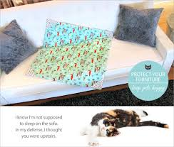 Throws For Sofa by Protective Pet Throws For Furniture Sew4home
