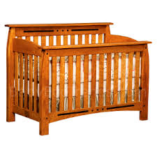 solid wood cribs amish 4 in 1 convertible crib arcadia baby
