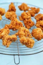 crispy buttermilk popcorn chicken