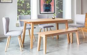 six seater dining table grey bench dining set 6 seats home furniture out out original