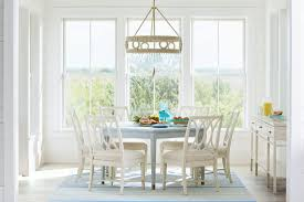 beachy dining sets coastal dining room sets for a simple feast