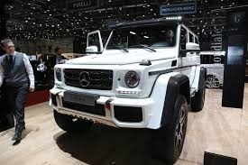 peugeot 4 by 4 mercedes benz g500 4x4 squared enters production costs 256 000