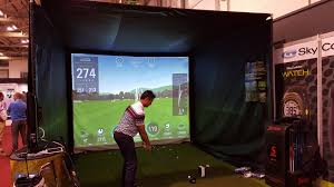Home Golf Simulator by Golf Simulator Hire Football Penalty Shootout