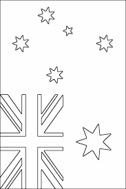blank flag coloring page australian flag coloring page free printable coloring pages