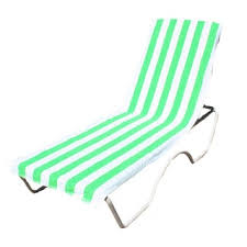 Chaise Lounge Terry Cloth Covers Turkish Cotton Standard Chaise Lounge Chair Towel Cover With
