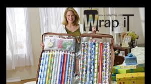 wrap it the best gift wrap storage organizer commercial