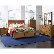 Dune Pine Casual Contemporary Piece Queen Bedroom Set Diego - Bedroom sets at rc willey