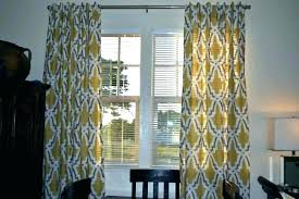 Gray And Yellow Curtains Yellow And Gray Curtains 96 Inch Curtains White Curtains 96 White
