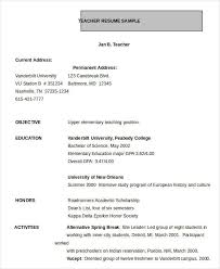 resume format in word resume in word template 24 free word pdf documents