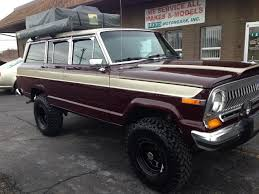 jeep grand wagoneer custom truck thursday 1988 jeep grand wagoneer is expedition ready