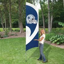 Decorative Garden Flags Amazon Com Party Animal Nfl Tall Team Flag With Pole Sports