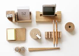Wood Desk Accessories And Organizers Wood Office Desk Accessories Muallimce