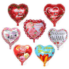 s day decorations 1pcs 18inch happy s day in te quiero heart