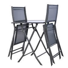 Bistro Patio Furniture Sets - 3 pcs bistro outdoor folding furniture set outdoor furniture