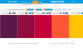 website color schemes 2017 get to know the best color palette generators available on the web
