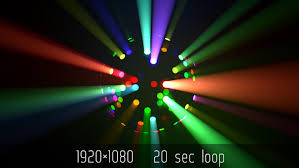 led disco ball light colorful led disco ball light rays by kosmos videohive