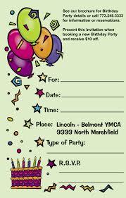 birthday card invitation u2013 gangcraft net