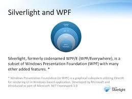 Microsoft Silver Light Microsoft Silverlight An Introduction