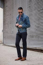denim jacket fall essentials he spoke style