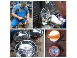ustensiles de cuisine en cuivre etamage des ustensiles de cuisine en cuivre remise en état