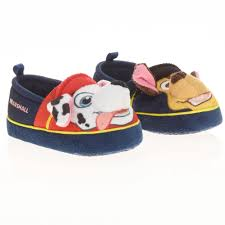 paw patrol toddler boys slipper walmart