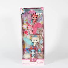 Pumpkin Palace Pet Plush by Disney Princess Palace Pets 4 Pack Furry Tail Friends Whisker