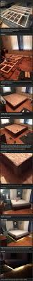how to make a real floating bed geeky things pinterest