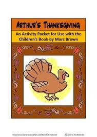 arthur s thanksgiving book 65 best marc brown theme images on author studies