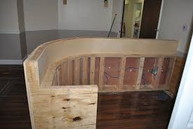 diy reception desk great step by step pictures plans