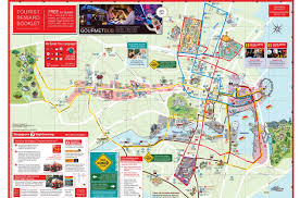Singapore On Map Hop On Hop Off Bustour Singapur City Sightseeing