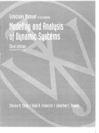 close frederick newell modeling and analysis of dynamic systems