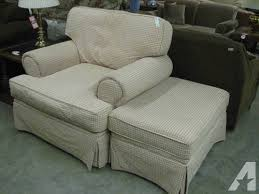 Chair And Ottoman Sale Hickory Hill Oversize Arm Chair And Ottoman For Sale In Fort