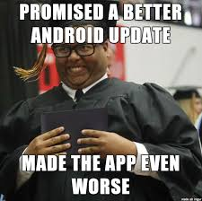 Meme Update - android update derploma guy know your meme