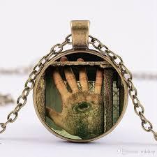 wholesale prison break gemstone pendants necklaces fashion michael