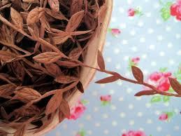 leaf ribbon leaf garland ribbon