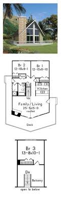 small a frame house plans a frame house plan 76407 total living area 1301 sq ft 3