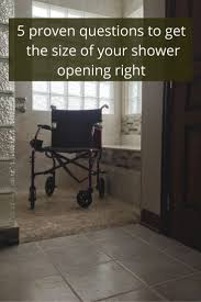 walk in shower ideas for small bathrooms best 25 roll in showers ideas on pinterest wheelchair