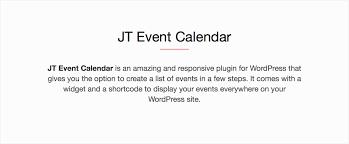 j t jt event calendar by jsquarethemes codecanyon