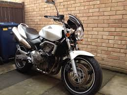 honda cb600f hornet white 600 4000miles 2003 excellent in